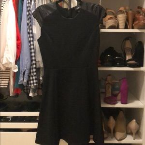 Mossimo dress with faux leather detail